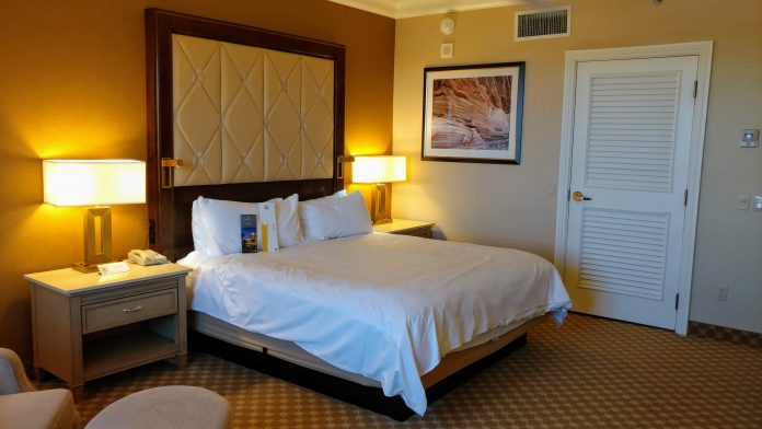 Bedroom at JW Marriott Las Vegas Resort & Spa