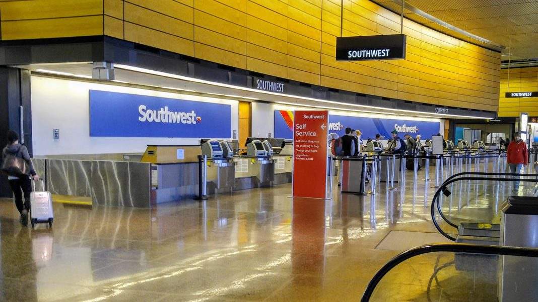 Southwest Airlines Ticket Counter at SEA