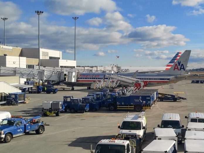 American Airlines Jets at BOS