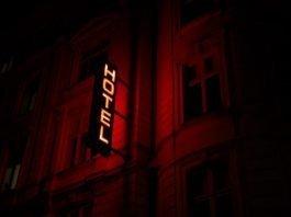 Hotel Sign in Copenhagen, Denmark - Marten Bjork via Unsplash