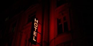 Hotel Sign in Copenhagen, Denmark - Marten Bjork via Unsplash