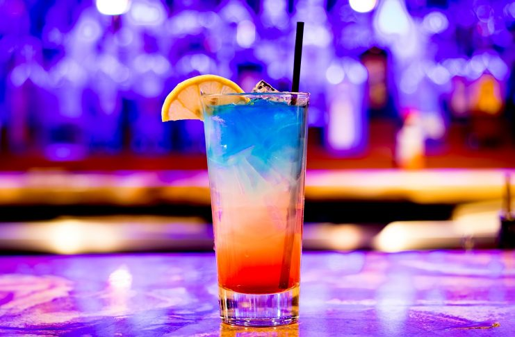 Colorful Cocktail in Tall Glass - Social Butterfly via Pixabay