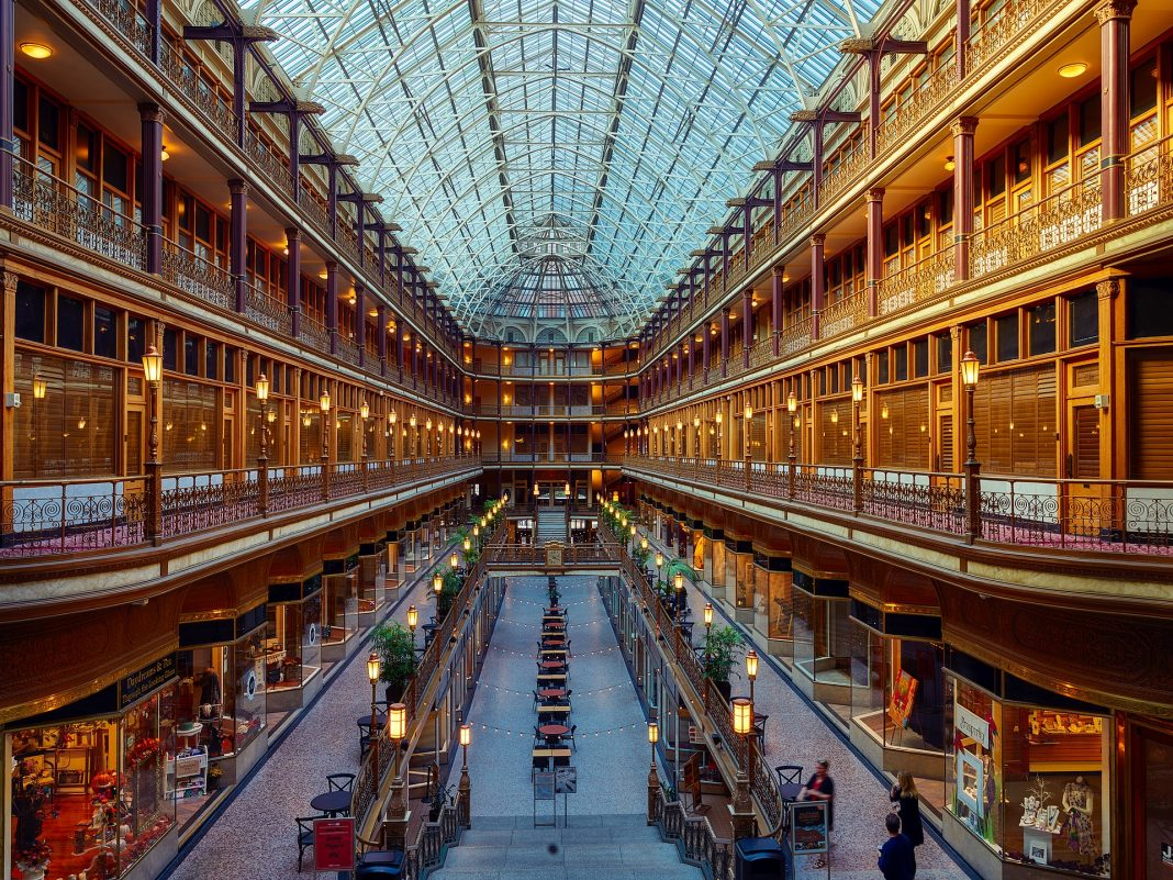 The Arcade in Cleveland, OH - tpsdave via Pixabay